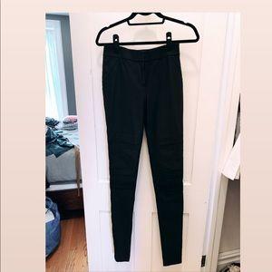 Diane Von Furstenberg Moto Skinny Pants